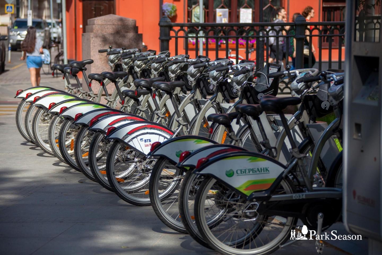 Городской велопрокат, Патриаршие пруды, Москва — ParkSeason