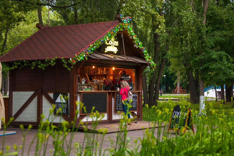 Уличное кафе «Точка бодрости» — ParkSeason