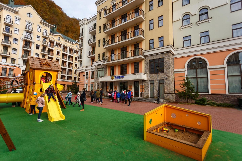 Отель Tulip Inn Rosa Hutor 3* — ParkSeason