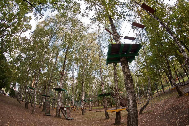 Аттракцион «Веревочный парк» — ParkSeason