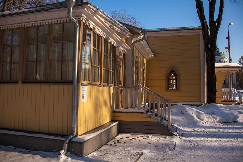 Дом для приезжающих, Музей-усадьба «Архангельское», Москва — ParkSeason