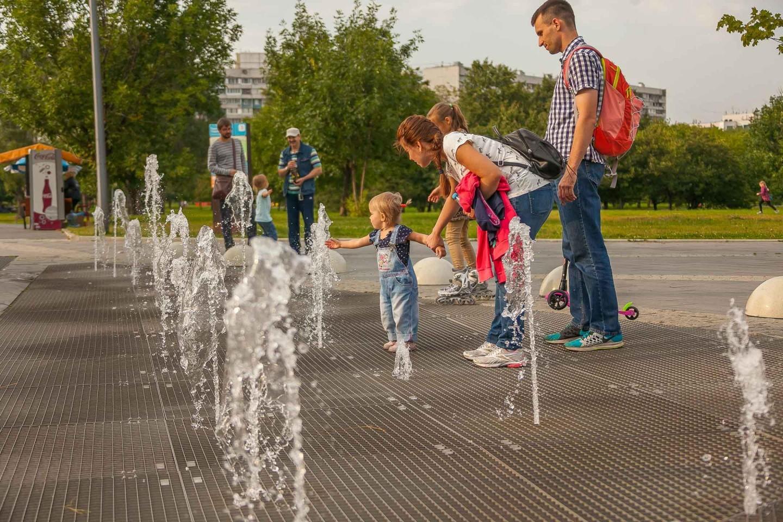 Сухой фонтан (временно закрыт), Парк «Садовники», Москва — ParkSeason
