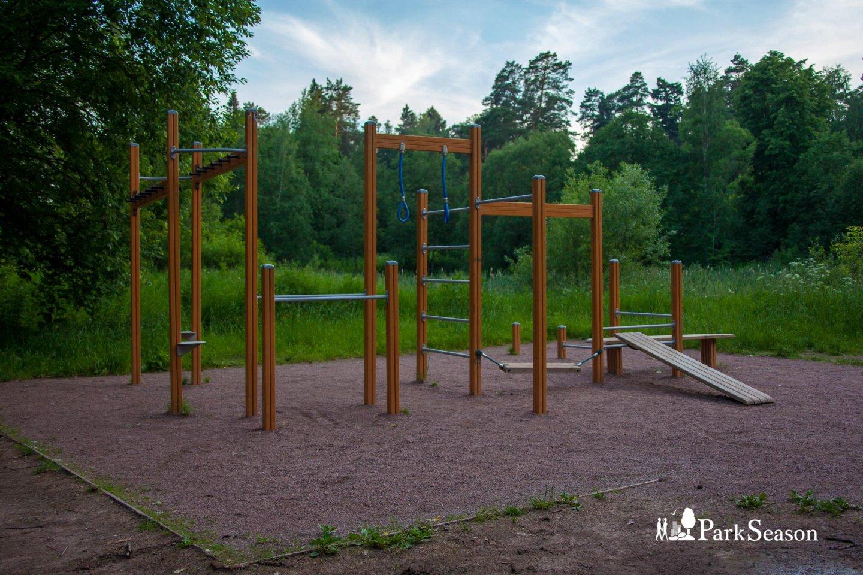 Площадка WorkOut, Парк «Мещерский», Москва — ParkSeason