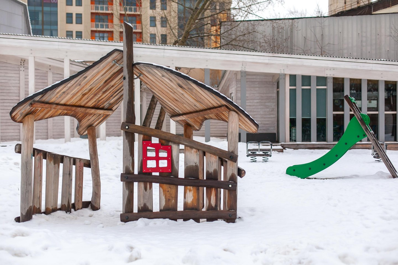 Детская площадка, «Музеон», Москва — ParkSeason