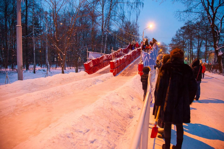 Детская ледяная горка, Парк «Сокольники», Москва — ParkSeason