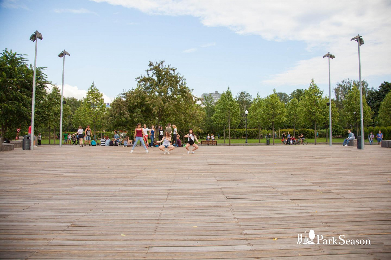 Танцевальная площадка, Парк Горького, Москва — ParkSeason