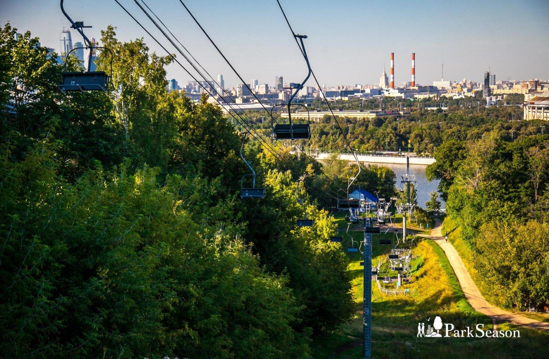 Канатная дорога «Воробьевы горы», Воробьевы горы, Москва — ParkSeason