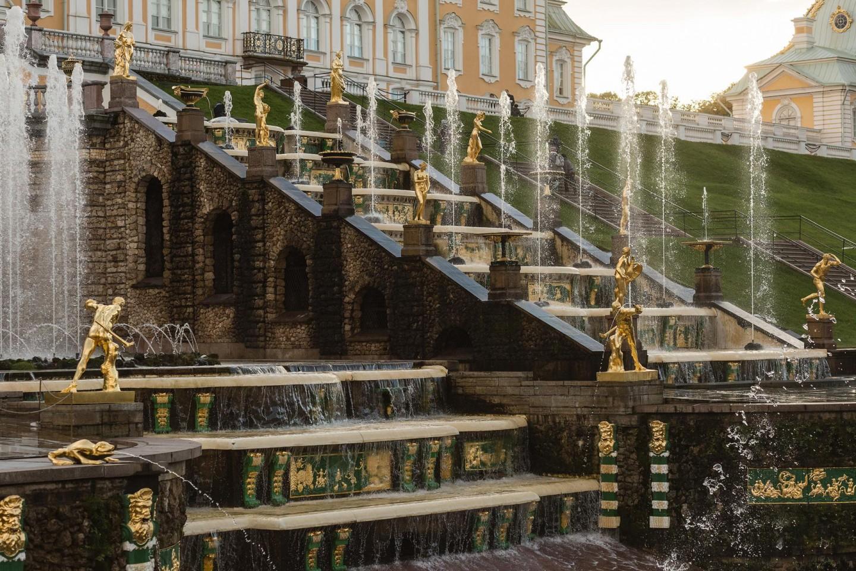 Большой каскад фонтанов — ParkSeason