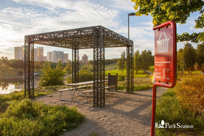 Место для пикника, Парк Олимпийской деревни, Москва — ParkSeason