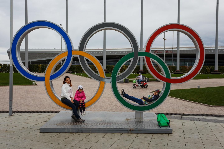 Олимпийские кольца — ParkSeason