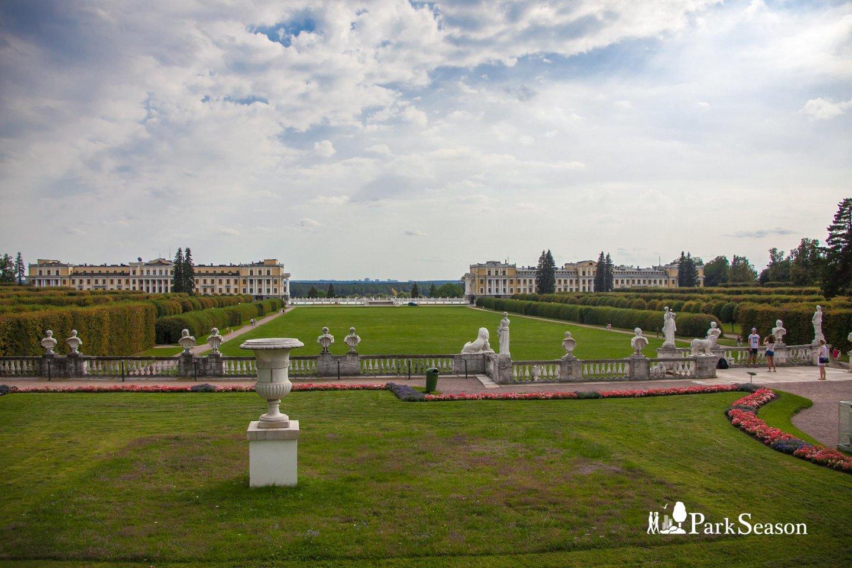 Верхняя терраса, Музей-усадьба «Архангельское», Москва — ParkSeason