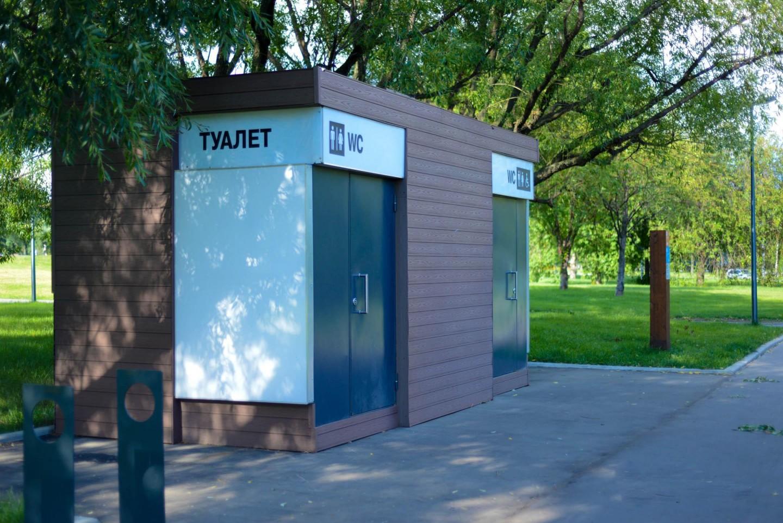 Туалет, Парк «Садовники», Москва — ParkSeason