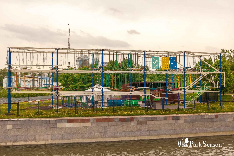 Веревочный парк «Gammy Park», Парк Победы на Поклонной горе, Москва — ParkSeason