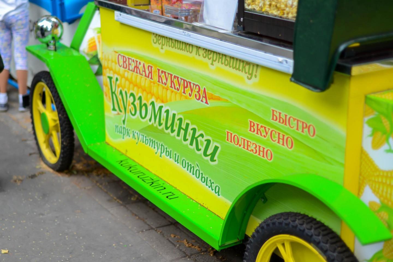 Горячая кукуруза, Парк «Кузьминки», Москва — ParkSeason