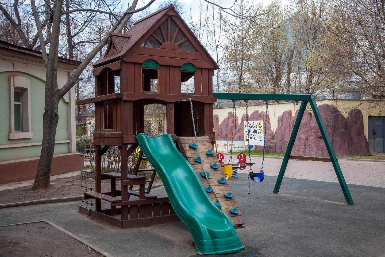 Детская площадка, Московский зоопарк, Москва — ParkSeason