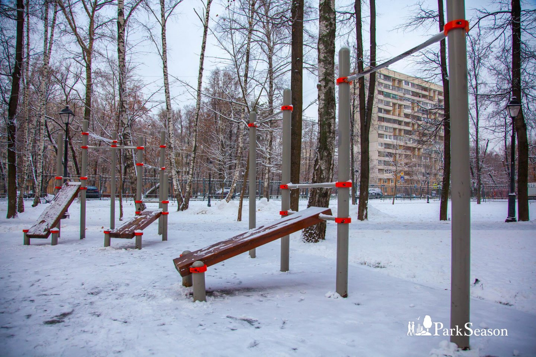 Площадка WorkOut, Парк «Бабушкинский», Москва — ParkSeason