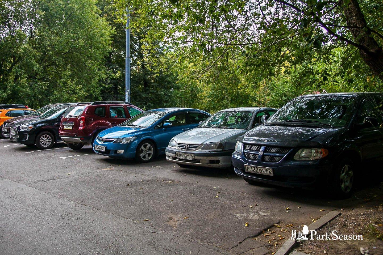 Парковка, Парк «Березовая роща», Москва — ParkSeason