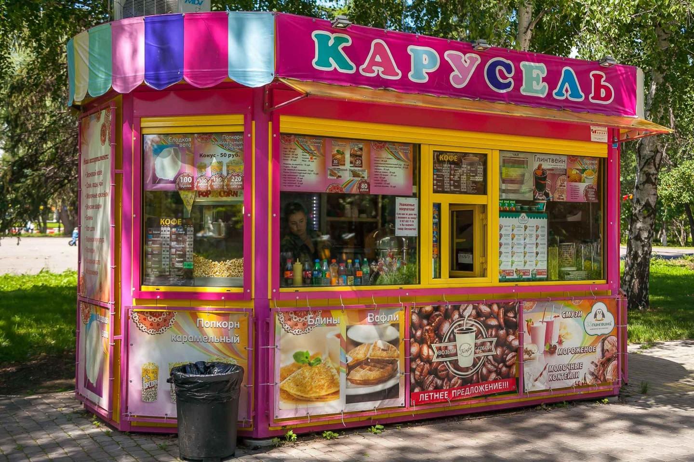 Уличное кафе «Карусельч» — ParkSeason