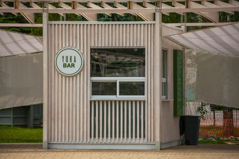Уличное кафе «Yuka bar» — ParkSeason