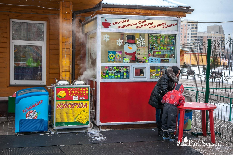 Киоск с уличной едой — ParkSeason