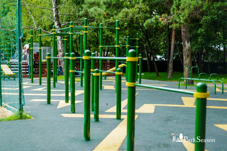 Площадка WorkOut, Парк «Кузьминки», Москва — ParkSeason