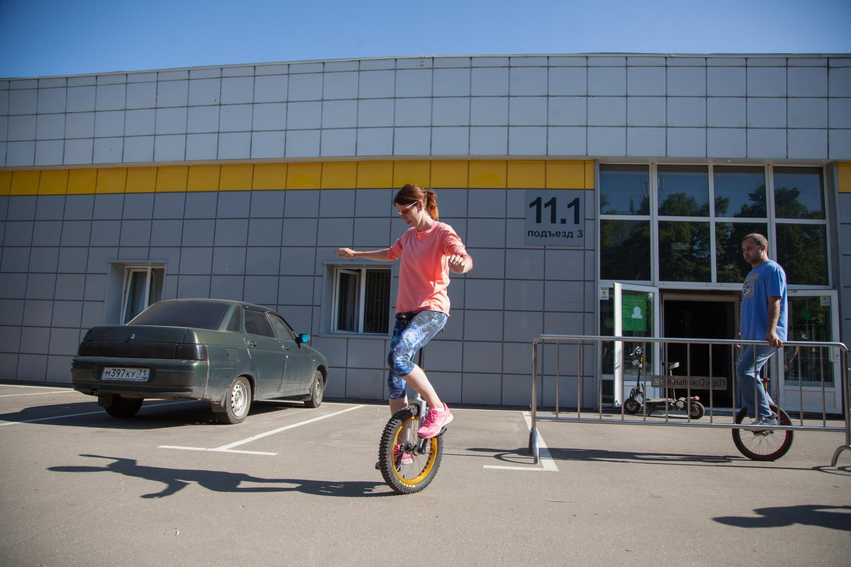 Школа унициклинга, Парк «Сокольники», Москва — ParkSeason
