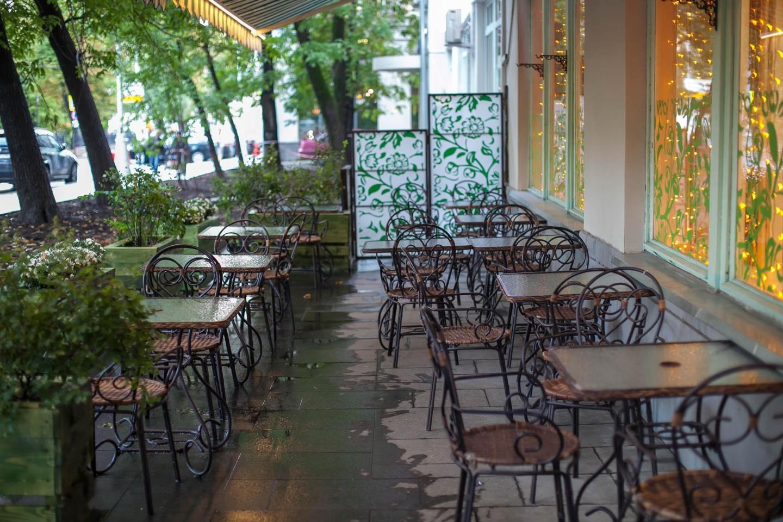 Кафе «Авокадо», Чистые пруды, Москва — ParkSeason