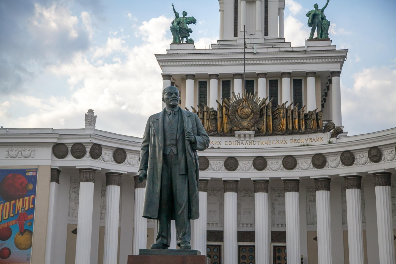 Памятник В. И. Ленину, ВДНХ, Москва — ParkSeason