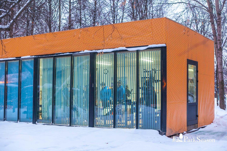 Крытый тренажерный зал, Парк «Северное Тушино», Москва — ParkSeason