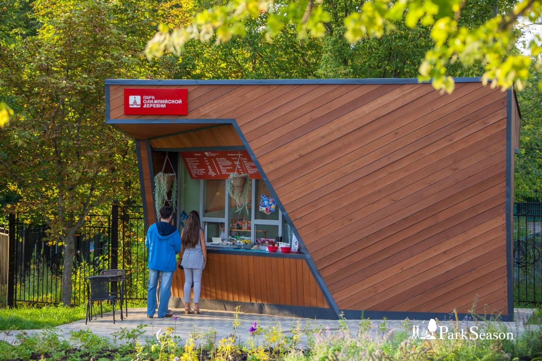 Кафе «В самое сердце», Парк Олимпийской деревни, Москва — ParkSeason
