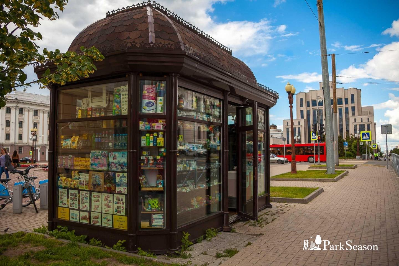 Киоск с уличной едой и сувенирами — ParkSeason