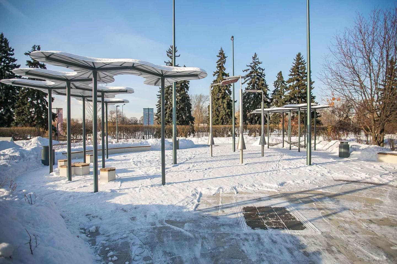 Детская площадка «Салют», Парк Горького, Москва — ParkSeason