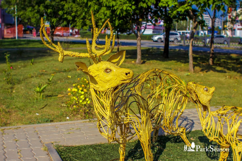 Скульптура «Олени» — ParkSeason