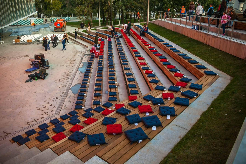 Малый амфитеатр, Парк «Зарядье», Москва — ParkSeason