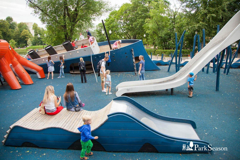 Детская площадка Monstrum, Парк Горького, Москва — ParkSeason