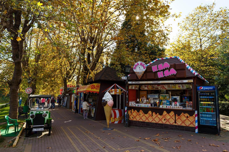 Киоски с уличной едой — ParkSeason