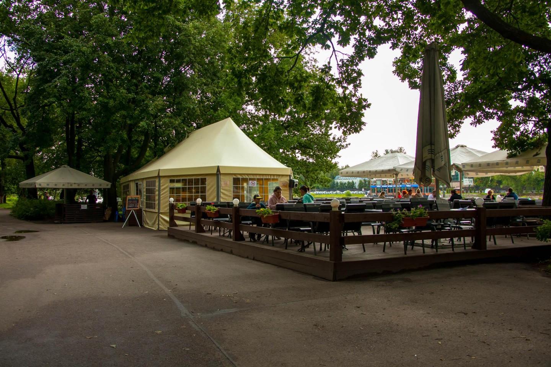 Кафе «Пристань» — ParkSeason