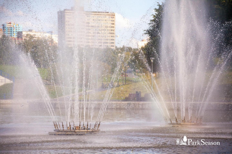 Фонтаны, Парк Олимпийской деревни, Москва — ParkSeason