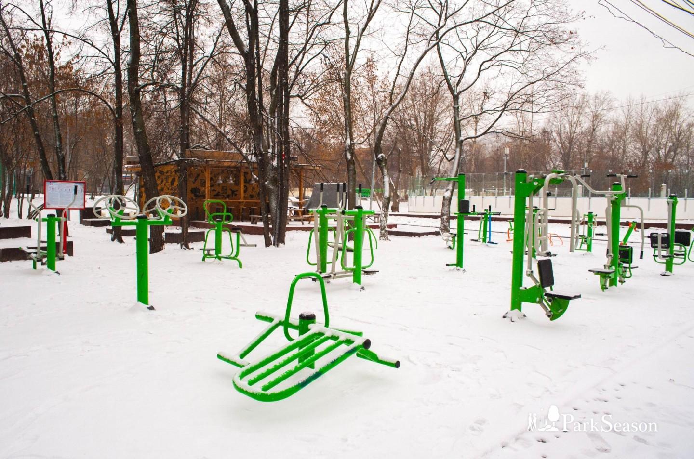 Уличные тренажеры, Парк «Красная Пресня», Москва — ParkSeason