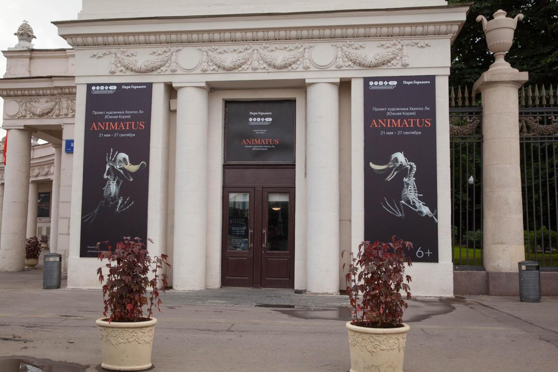 Выставка Animatus, Парк Горького, Москва — ParkSeason