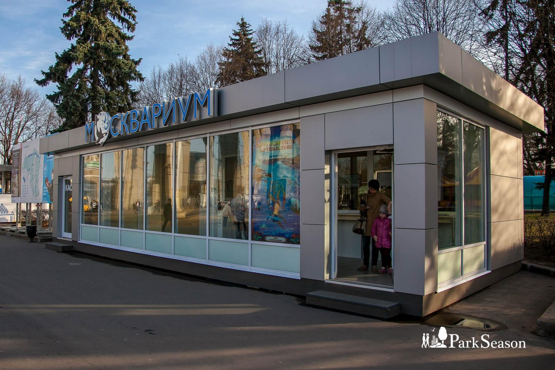 Касса «Москвариума», ВДНХ, Москва — ParkSeason
