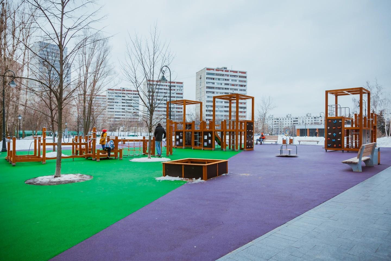 Детская площадка, Сиреневый сад, Москва — ParkSeason