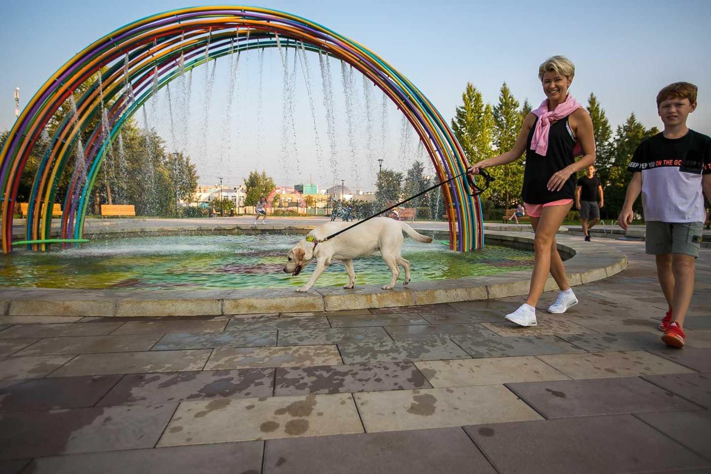 Фонтан, Детский ландшафтный парк «Южное Бутово», Москва — ParkSeason