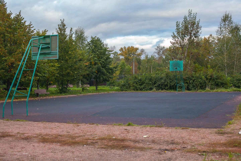 Баскетбольная площадка, Парк «Измайловский», Москва — ParkSeason