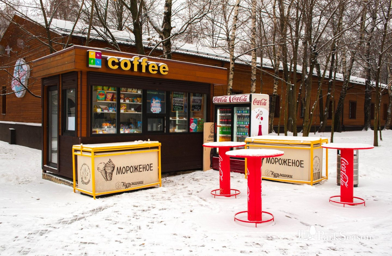 Киоск Coffee, Парк «Кузьминки», Москва — ParkSeason