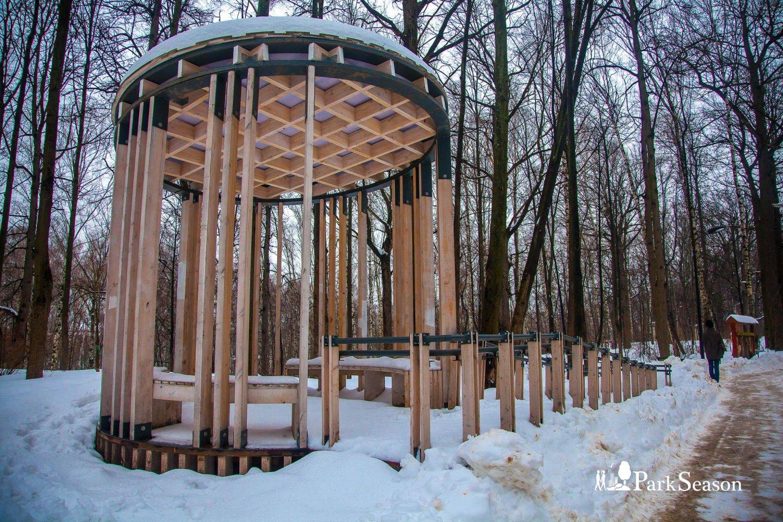 Беседки у Андреевских прудов, Воробьевы горы, Москва — ParkSeason