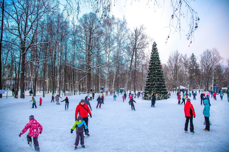Каток в парке «Крылья советов» (Казань) — ParkSeason