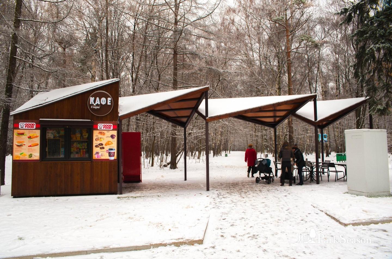 Киоск Good Food, Парк «Кузьминки», Москва — ParkSeason