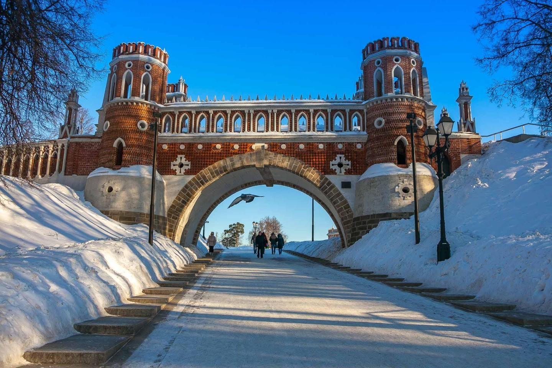 Фигурный мост, Музей-заповедник «Царицыно», Москва — ParkSeason