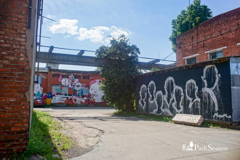 Граффити «Фигуры» — ParkSeason
